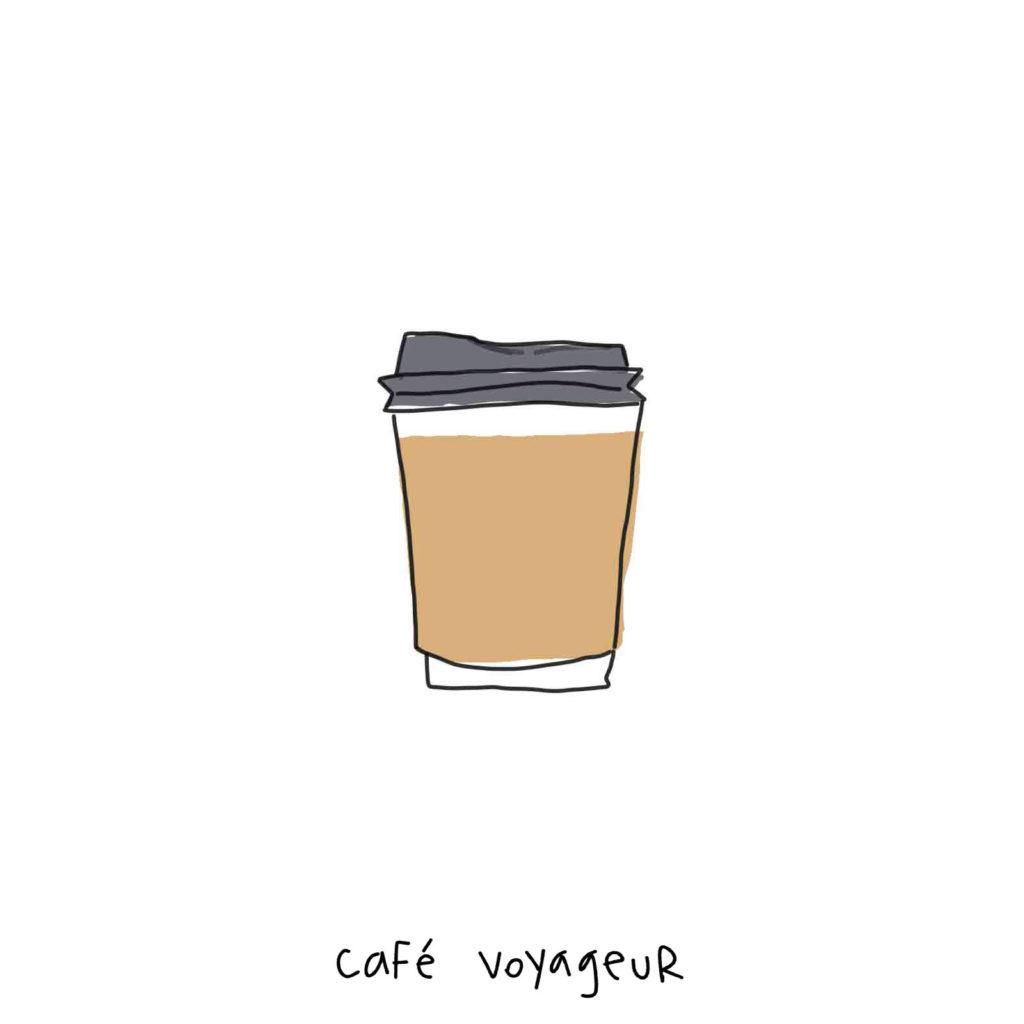 expresso, cappuccino, chocolat chaud à emporter